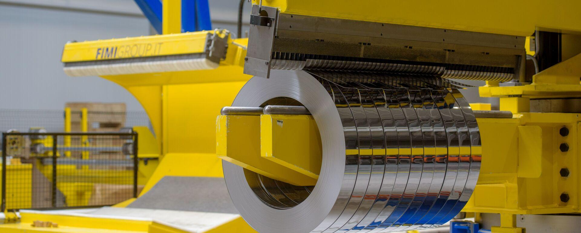 Slitter  – linia do produkcji taśm ze stali nierdzewnej i aluminium